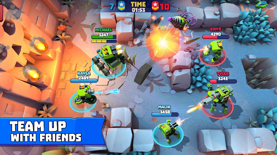 Tanks A Lot! - Realtime Multiplayer Battle Arena Unlimited Money