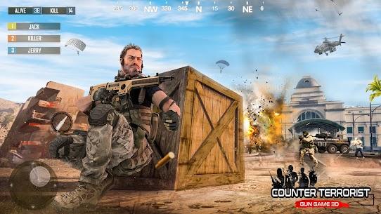 Fire Free Battleground Survival Firing Squad Mod Apk (GOD MODE) 3