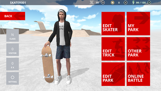 Skate Space Mod Apk 1.441 (Lots of X Currency) 5