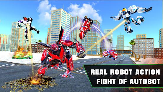 Grand Robot Bike Transform City Attack 1.14 Screenshots 5
