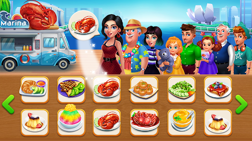 Cooking Truck - Food truck worldwide cuisine screenshots 2