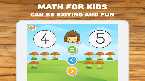 Math for kids: numbers, counting, math games
