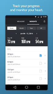 Instant Heart Rate+ : Heart Rate & Pulse Monitor [v5.36.8253] APK Mod for Android logo