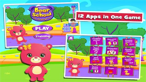 Bears' Fun Kindergarten Games  screenshots 1