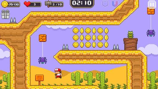 Super Jim Jump - pixel 3d 3.6.5026 screenshots 4