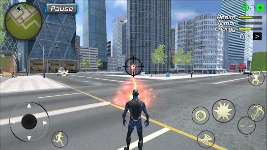 Black Hole Hero Mod Apk: Vice Vegas Rope Mafia (Unlimited Mana) 8