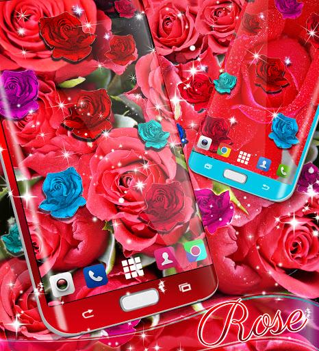 Best rose live wallpaper 2021 apktram screenshots 12