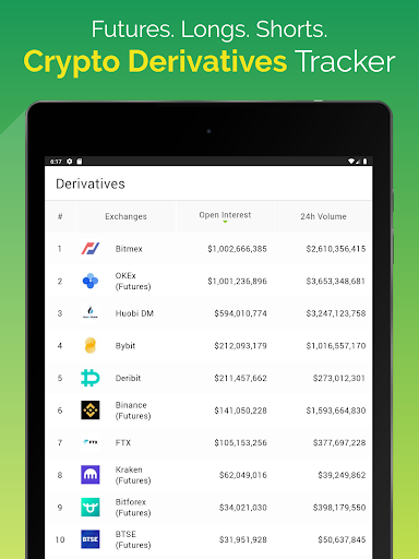 CoinGeckou00a0- Bitcoin & Cryptocurrency Price Tracker Apkfinish screenshots 20