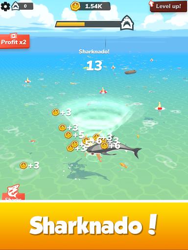 Idle Shark World: Hungry Monster Evolution Game screenshots 15