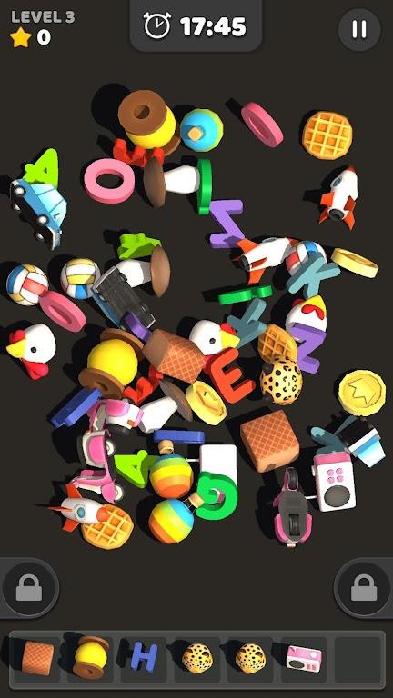 Match Tile 3D - Original Pair Puzzle poster 1