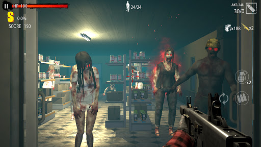 Zombie Hunter D-Day screen 1