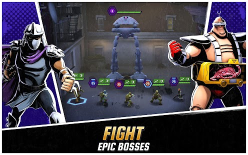 Ninja Turtles: Legends Screenshot
