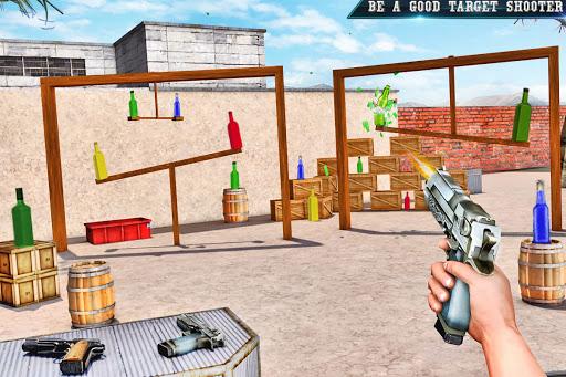 Real Bottle Shooting Free Games: 3D Shooting Games 20.6.0 screenshots 3