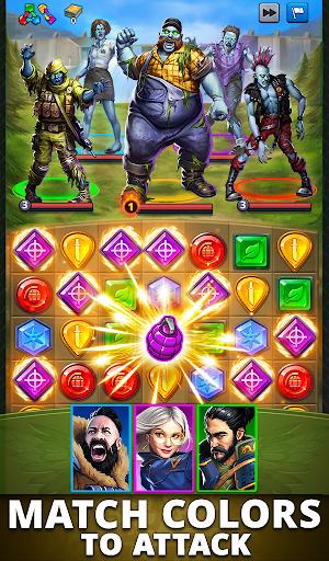 Puzzle Combat: Match-3 RPG Apkfinish screenshots 17