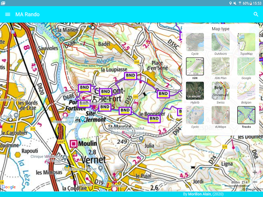 GPS for Hiking, Cycling, Hunting and offline maps modavailable screenshots 13