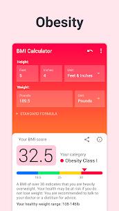 BMI Calculator PRO (MOD, Paid) v2.2.5 4