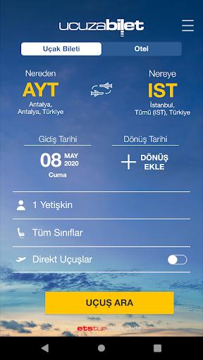 Ucuzabilet - Flight Tickets 3.1.8 Screenshots 8
