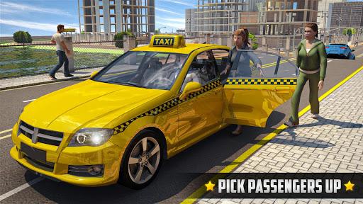 City Taxi Driver 2020 - Car Driving Simulator  screenshots 1