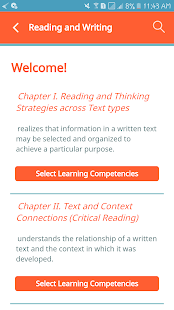 Reading and Writing - QuexBook