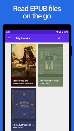 Lithium: EPUB Reader 0.24.1 Screenshots 1