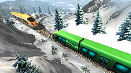 New Train Racing Game 2021 –Offline Train Games 3D 8
