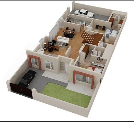 3D Home Plan Design For PC Windows (7, 8, 10, 10X) & Mac Computer Image Number- 7