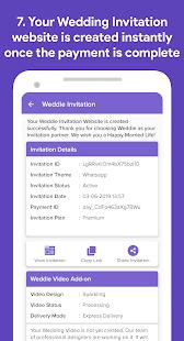 Weddie - Free Wedding Websites & Video Invitations screenshots 7