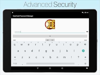 Password Manager Data Vault +