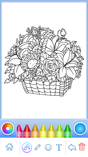 Coloring Book for Adults screenshots 5