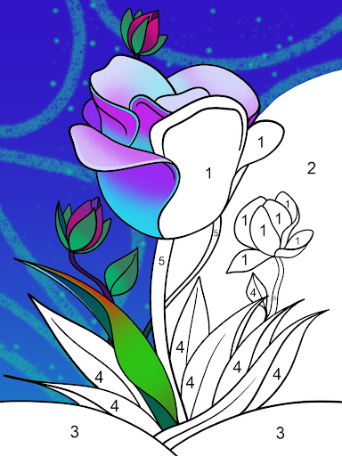 Paint by Number: Free Coloring Games - Color Book apktram screenshots 3