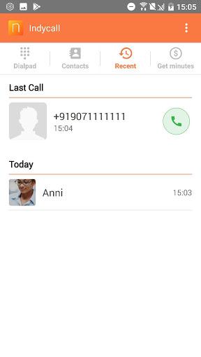 IndyCall - Free calls to India apktram screenshots 4