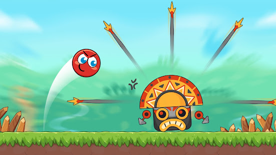 Red Bounce Ball Heroes 1.22 screenshots 11