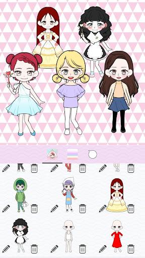 My Webtoon Character Girls - K-pop IDOL Maker 1.5.0 screenshots 6