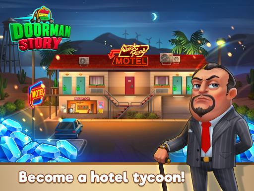 Doorman Story: Hotel team tycoon, time management 1.6.0 screenshots 11