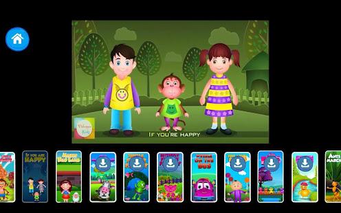 Kids Top Nursery Rhymes Videos - Offline Learning FiveLittle_v7.1 Screenshots 15
