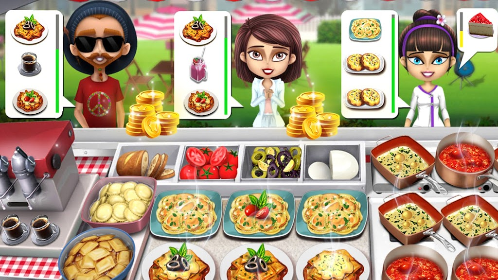 Cooking Games: Food Truck Chef My Cafe Restaurant poster 1