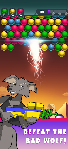 Bad Wolf! Bubble Shooter 0.0.12 screenshots 5