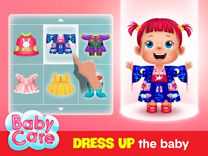 Baby care game for kids Screenshot