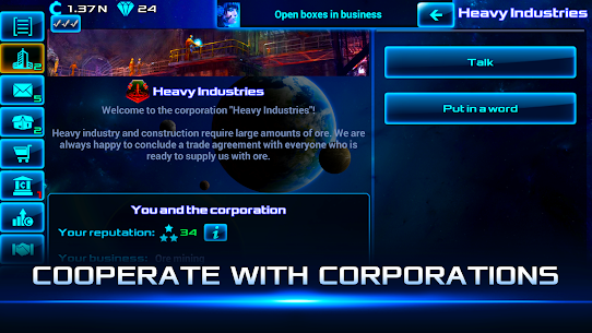 Idle Space Business Tycoon MOD (Unlimited Money) 3