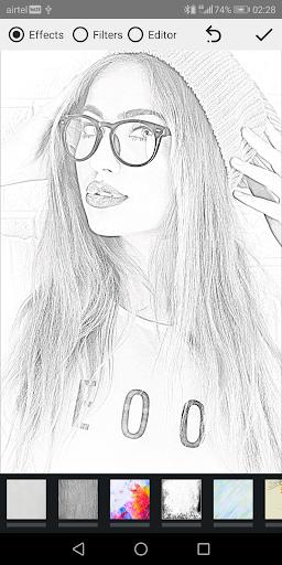 Pencil Photo Sketch-Sketching Drawing Photo Editor  Screenshots 1