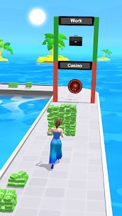 Free Money Run 3D 2