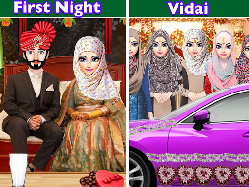 Hijab Muslim Wedding Girl Big Arranged Marriage  Screenshots 10