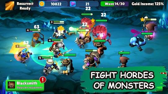 Idle Warrior Tales MOD APK (Unlimited Money/Premium) 1
