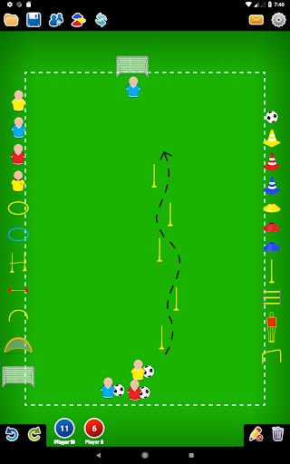 Coach Tactic Board: Soccer 1.3 Screenshots 6