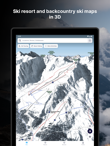 FATMAP: Hike, Bike, Ski Trails - 3D Outdoor Maps apktram screenshots 19