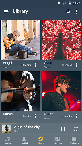 Music player - MP3 player & Audio player android2mod screenshots 4