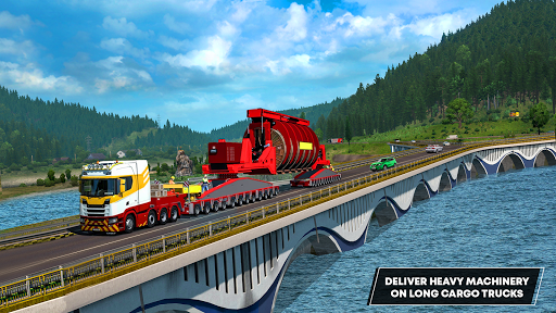 Future Truck Simulator : Hill Transport Driver  screenshots 9