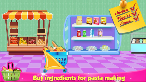Italian Pasta Maker: Cooking Continental Foods apktram screenshots 3