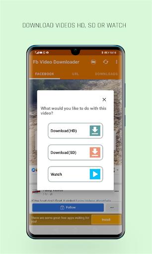 FastVid: Video Downloader for Facebook 4.4.2 Screenshots 3