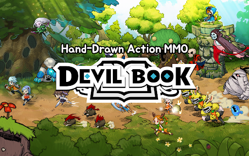 Devil Book: Hand-Drawn Action MMO 1.200120.47 screenshots 9